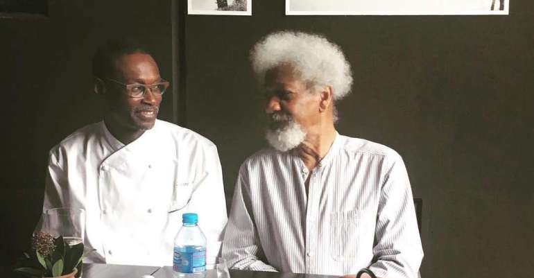 Pierre-Thiam-and-Wole-Soyinka-at-Nok-by-Alara