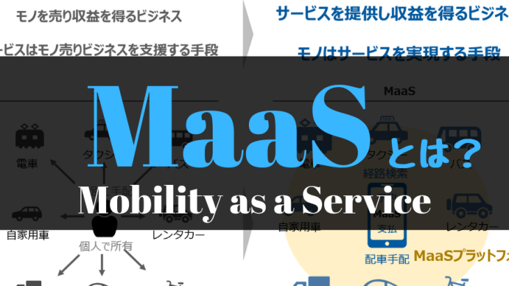 MaaS:Mobility as a Serviceとは?