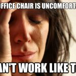 Alternative Office Chairs Help Relieve Back Pain