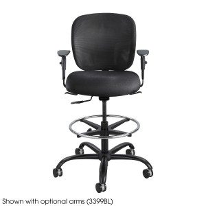 safco vue heavy duty drafting stool