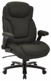 This is an example of a big and tall office chair