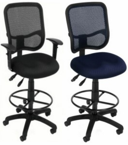 standard styles of drafting chairs.