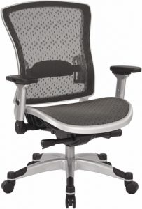 Mesh back ergonomic office chair