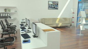 Open offices provide more natural light