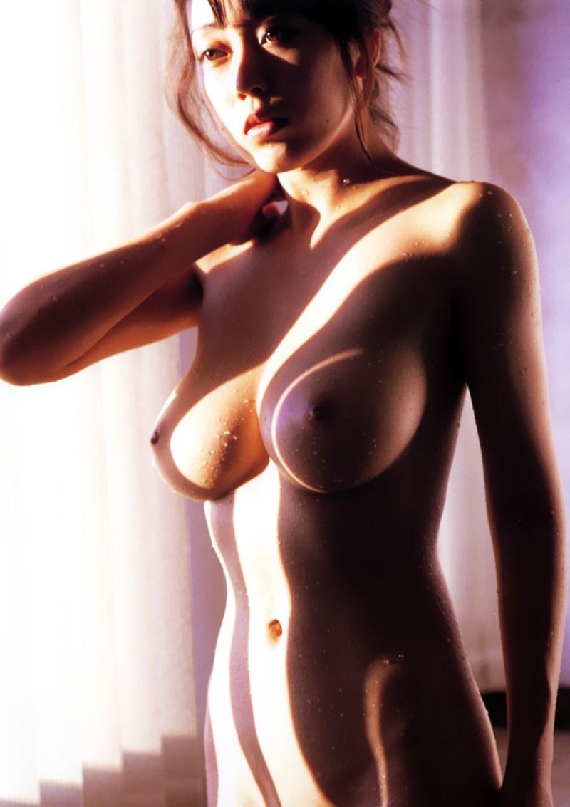 Japanese gravure model, AV actress Ayaka Fujisaki 藤崎彩花 Naked Photos