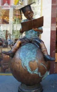 Boy and the world image