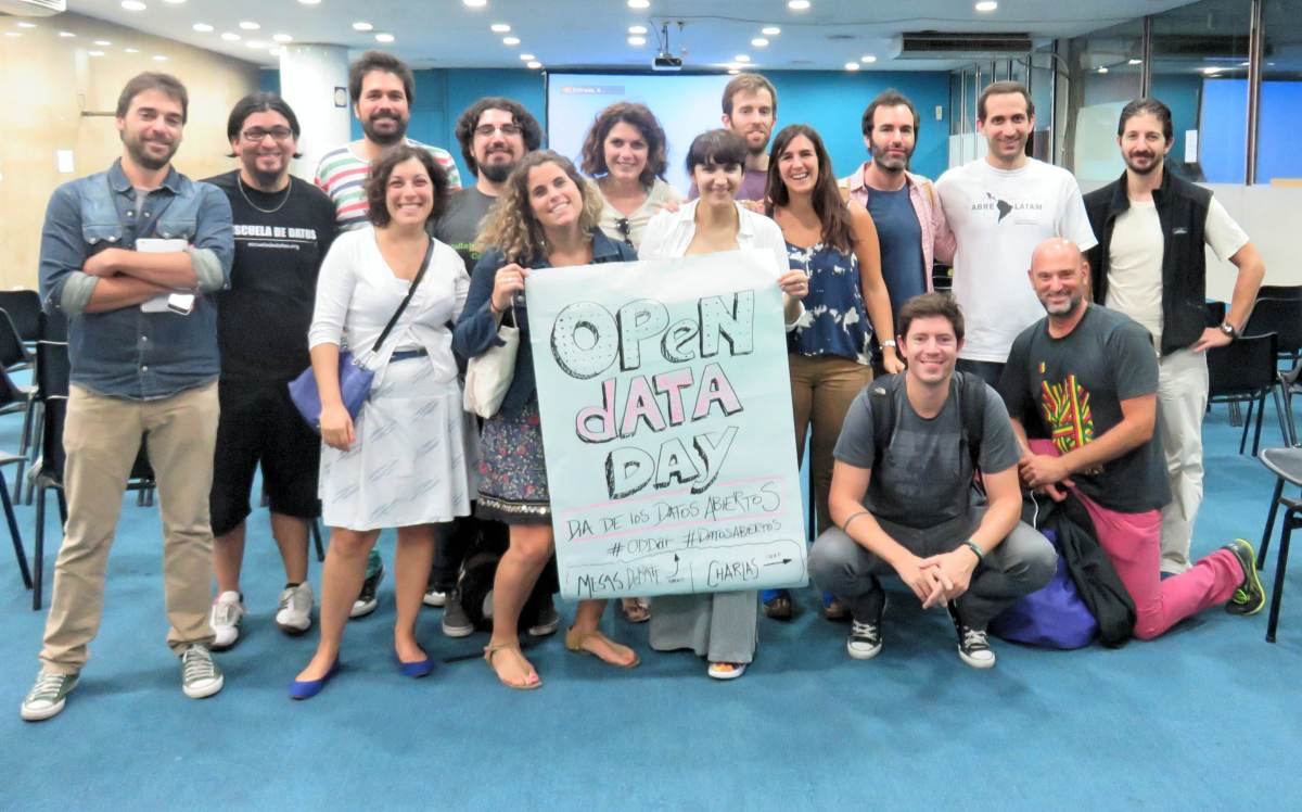 Open Day 2015 participants in Buenos Aires Argentina