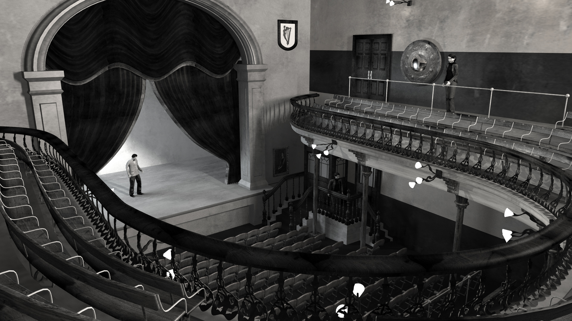 Abbey Theatre 1904 Visualisation