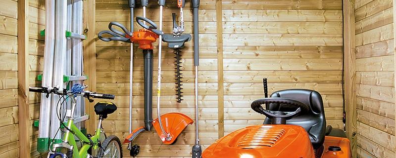 diy fabriquer un porte outils de jardin