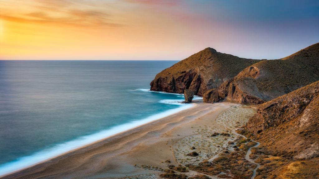 Playa de Los Muertos, Parque Natural do Cabo de Gata, Almería