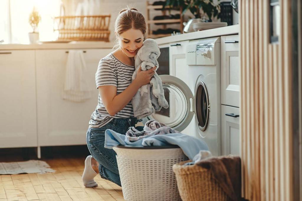 Como poupar trocos na hora de lavar a roupa title