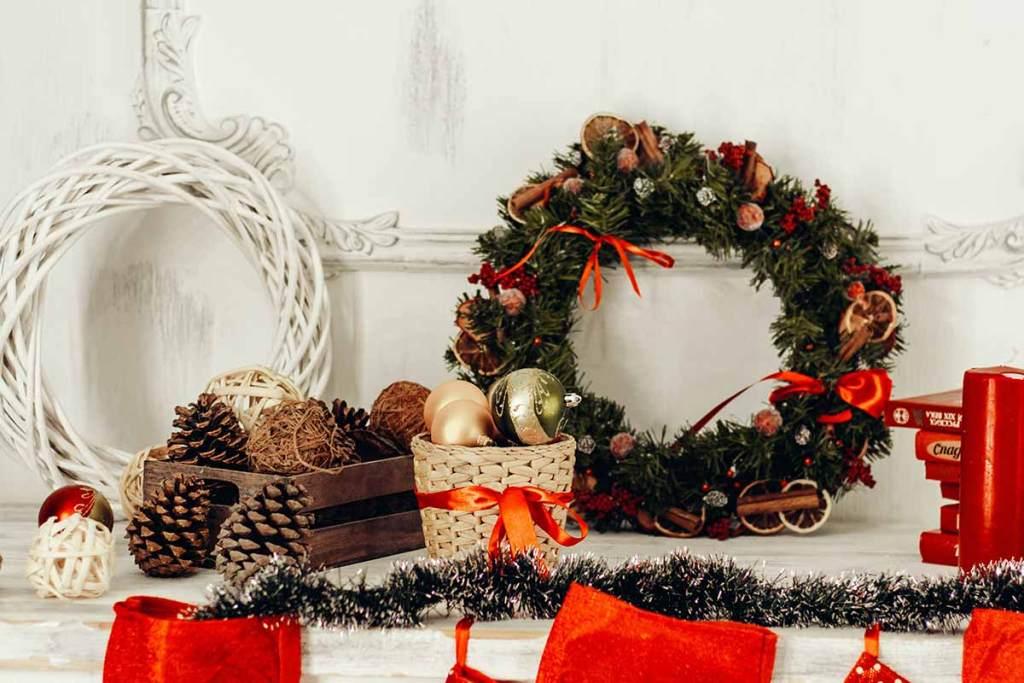 Coroas de natal DIY que podes fazer em casa para comemorar o Natal title