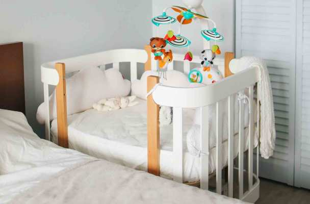 Berço do bebé para co-sleeping