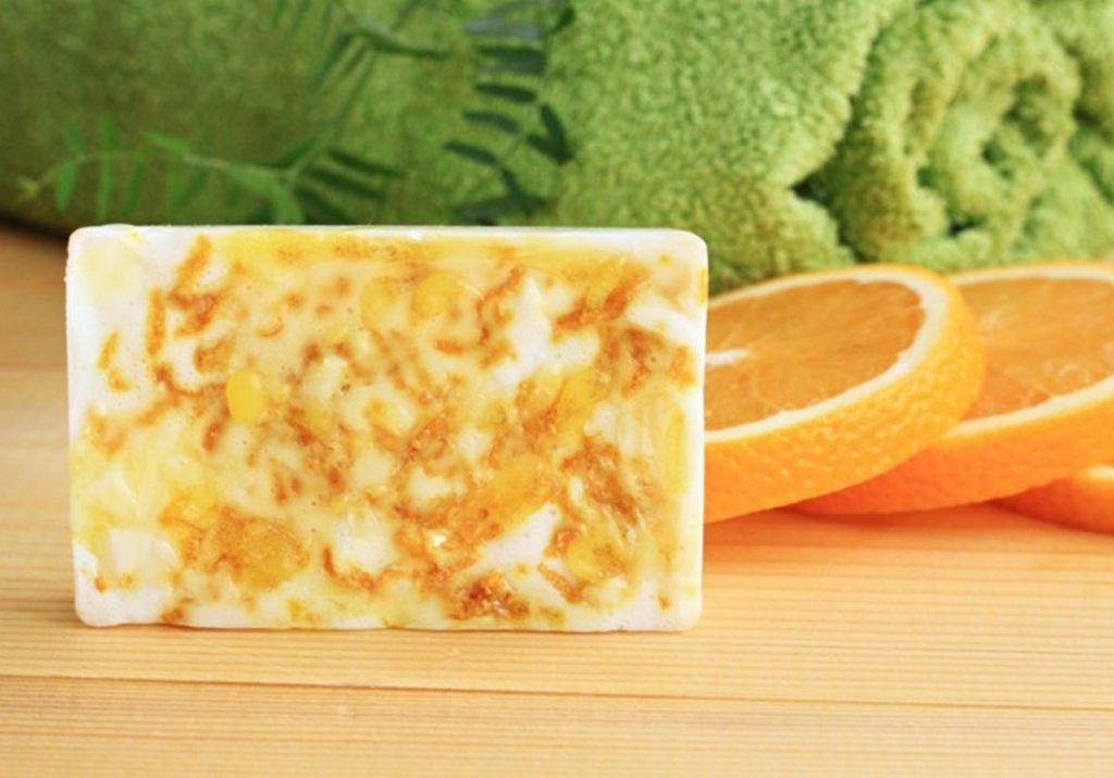 Sabonetes de laranja