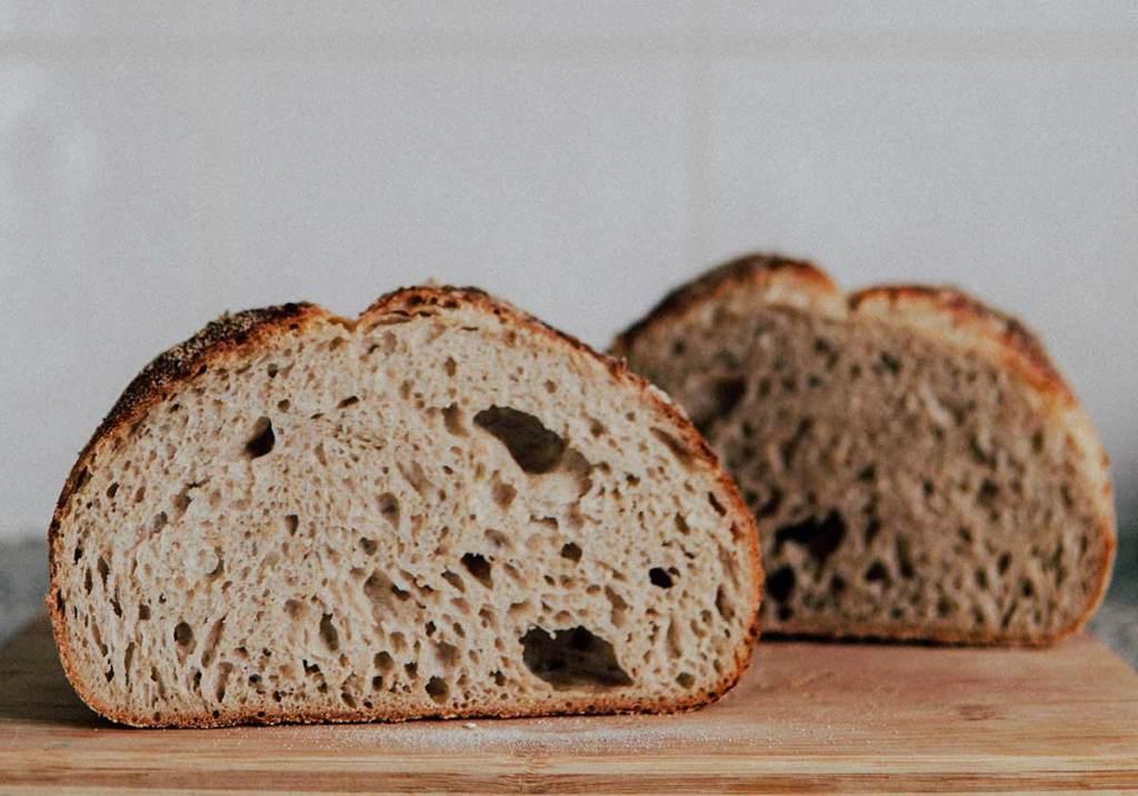 Pão caseiro liquidificador