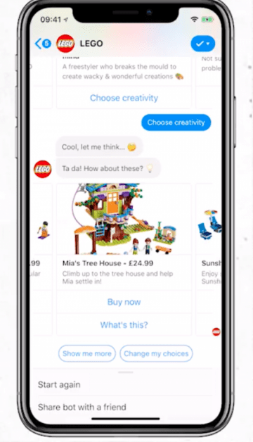 LEGO樂高 2018年3月22日~4月6日的 Messenger 廣告
