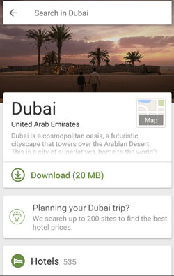 screenshot of tripadvisor city