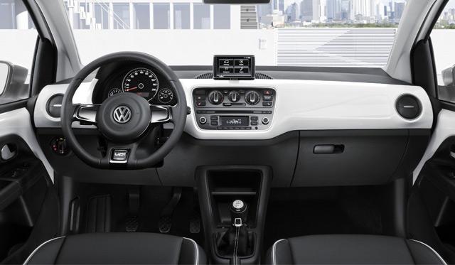 volkswagen rental car interior functions
