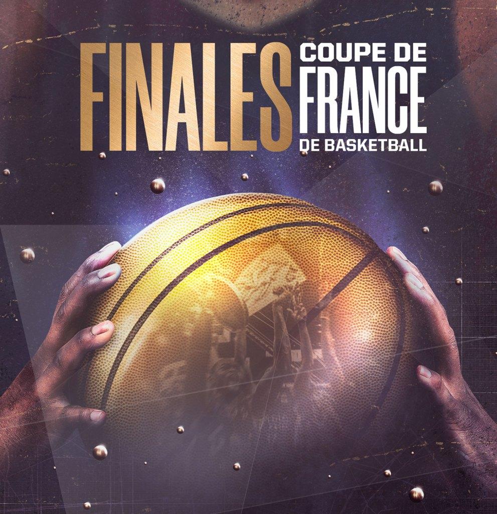 Finales de la coupe de France de basketball à l'AccorHotels Arena