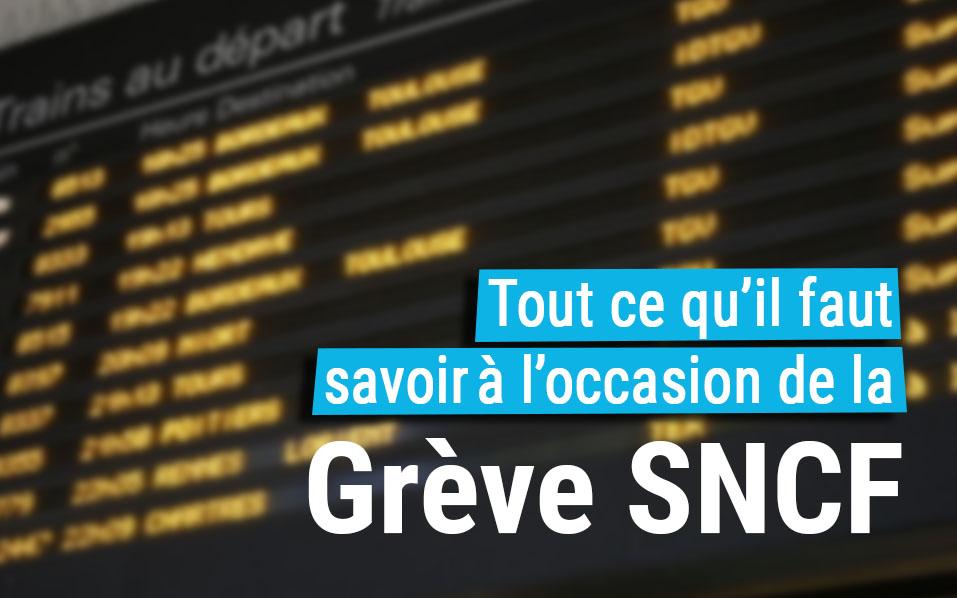 Grève SNCF : tout va bien pour votre parking