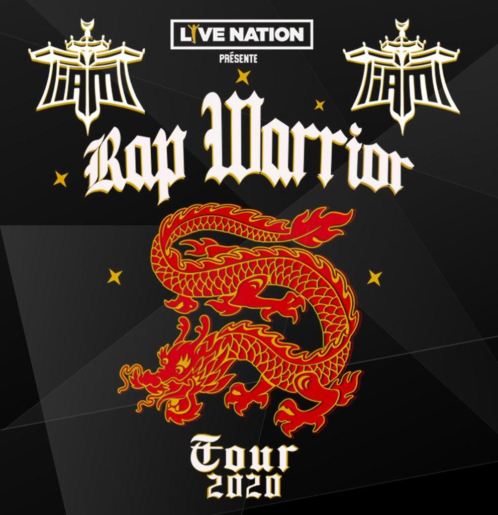 IAM : Rap Warrior Tour 2020 à l'AccorHotels Arena