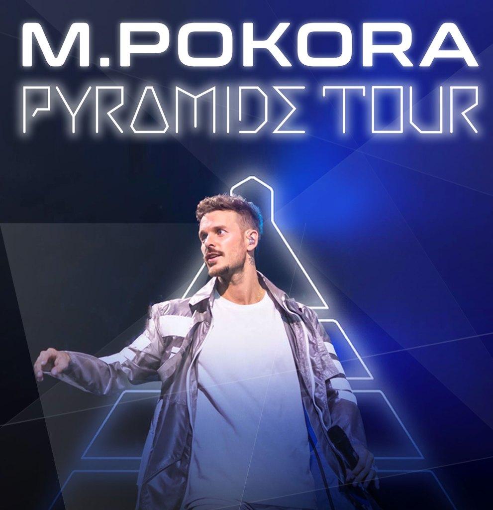 M. Pokora : Pyramide Tour à l'AccorHotels Arena
