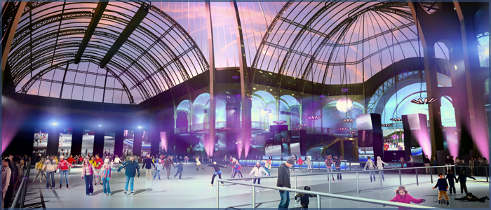 Patinoire Grand Palais