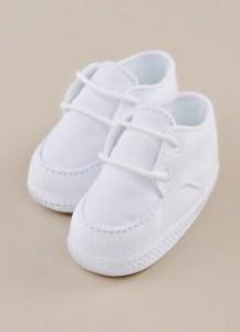 Boy Christening Shoe