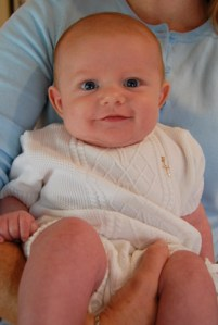 Braeden Knit Christening Outfit