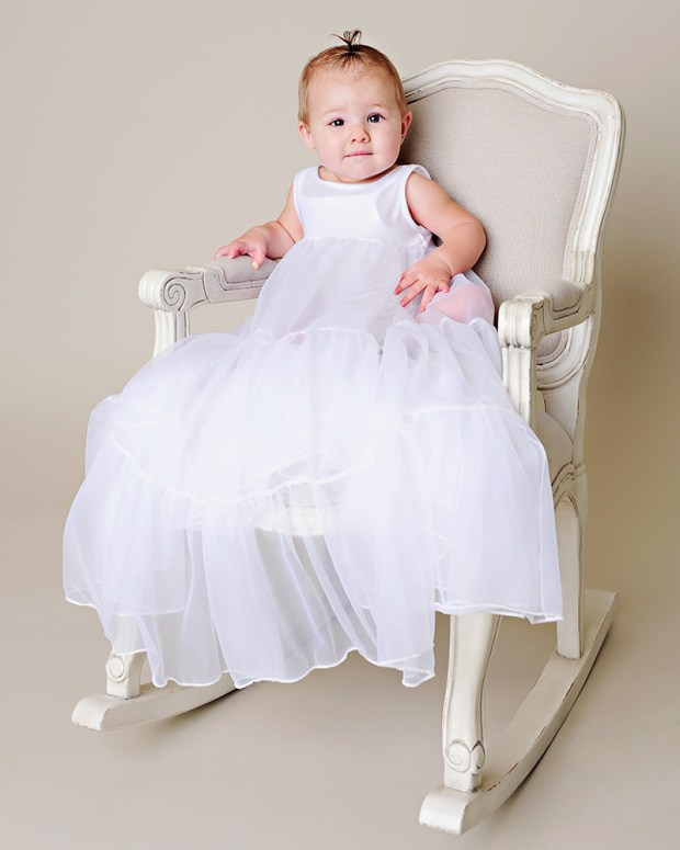 Heirloom Bouffant Baby Slip