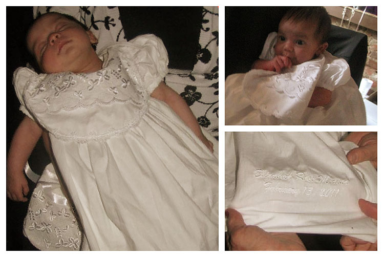 Erin Shamrock Baptism Dress