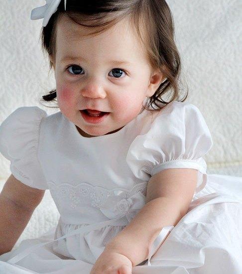 Annie Christening Dress for Girls