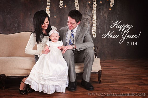 Happy New Year 2014   Christening Gowns at One Small Child