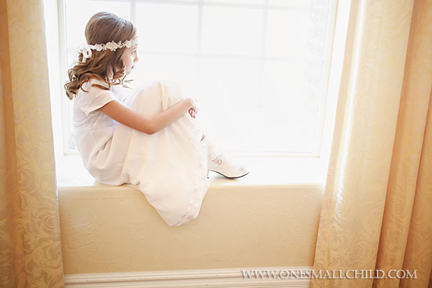 Miss Danielle First Communion Dresses | Portrait Ideas at One Small Child