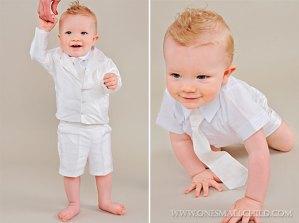 Kingston Silk Christening Suit