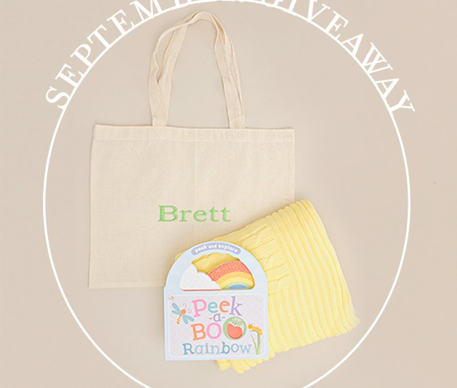 Baby Shower Gifts Giveaway
