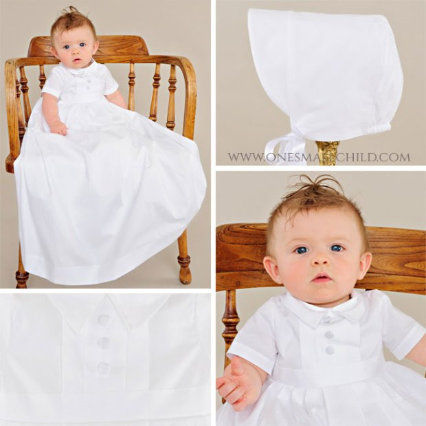 Caleb Boys Christening Gown