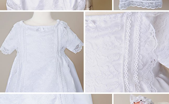 Brand New Spring Lace Christening Gowns Design – Camilla
