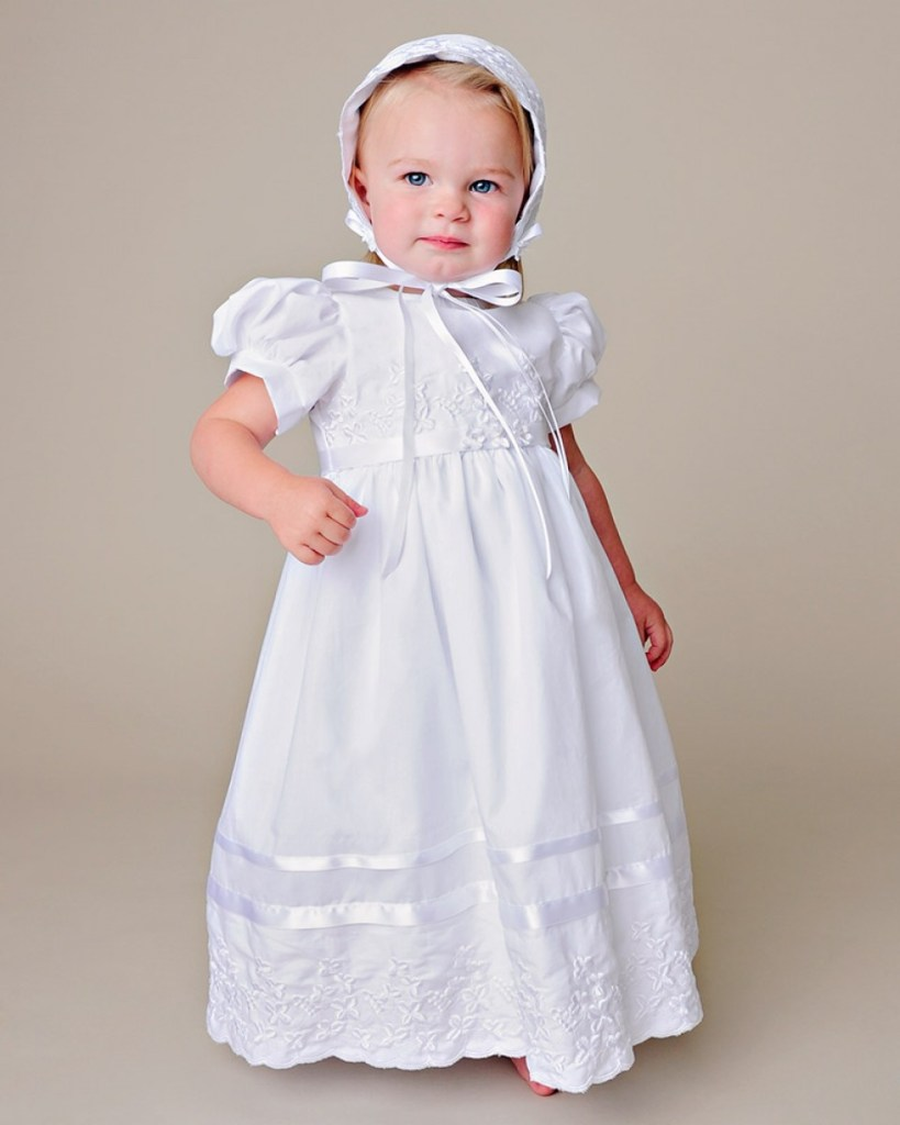 Erin Shamrock Christening Dress