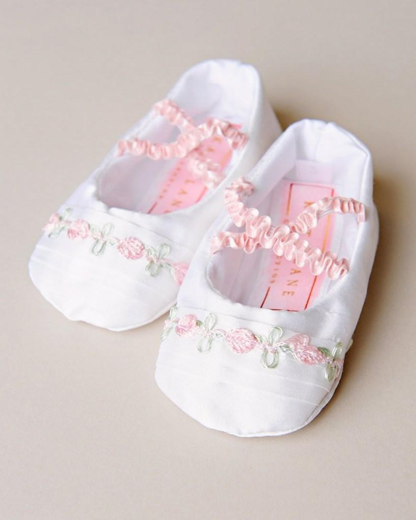 Jessa Christening Slippers