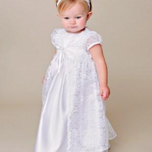 Violet Christening Gown