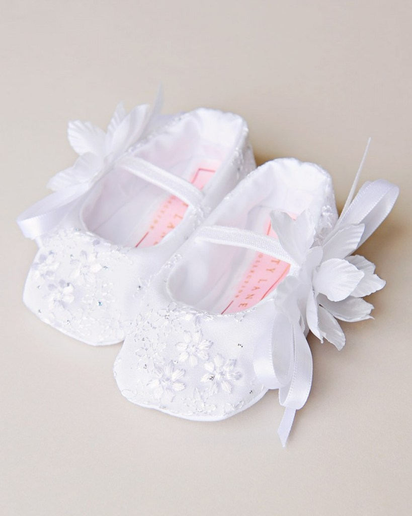 Jada Sparkle Christening Slipper