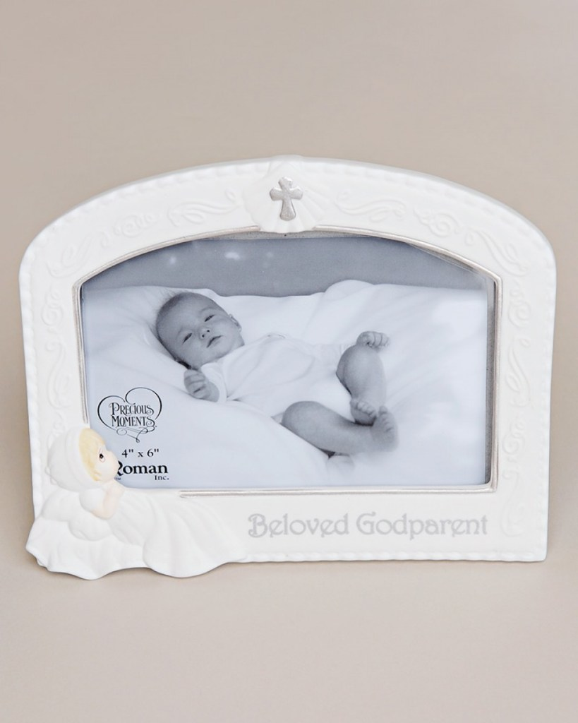 Precious Moments Godparent Frame