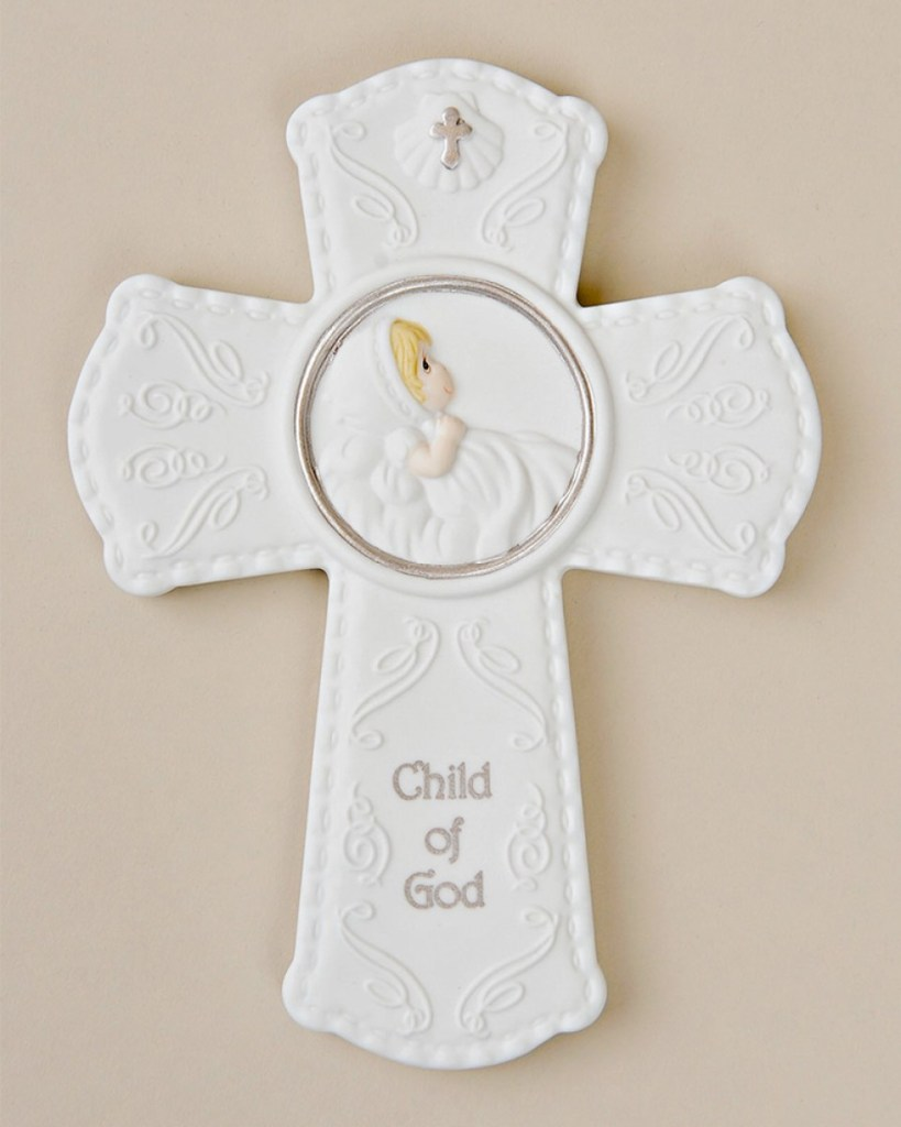 Precious Moments Wall Cross