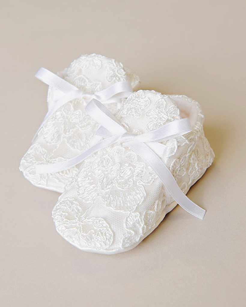 Royal Boy Baptism Shoe