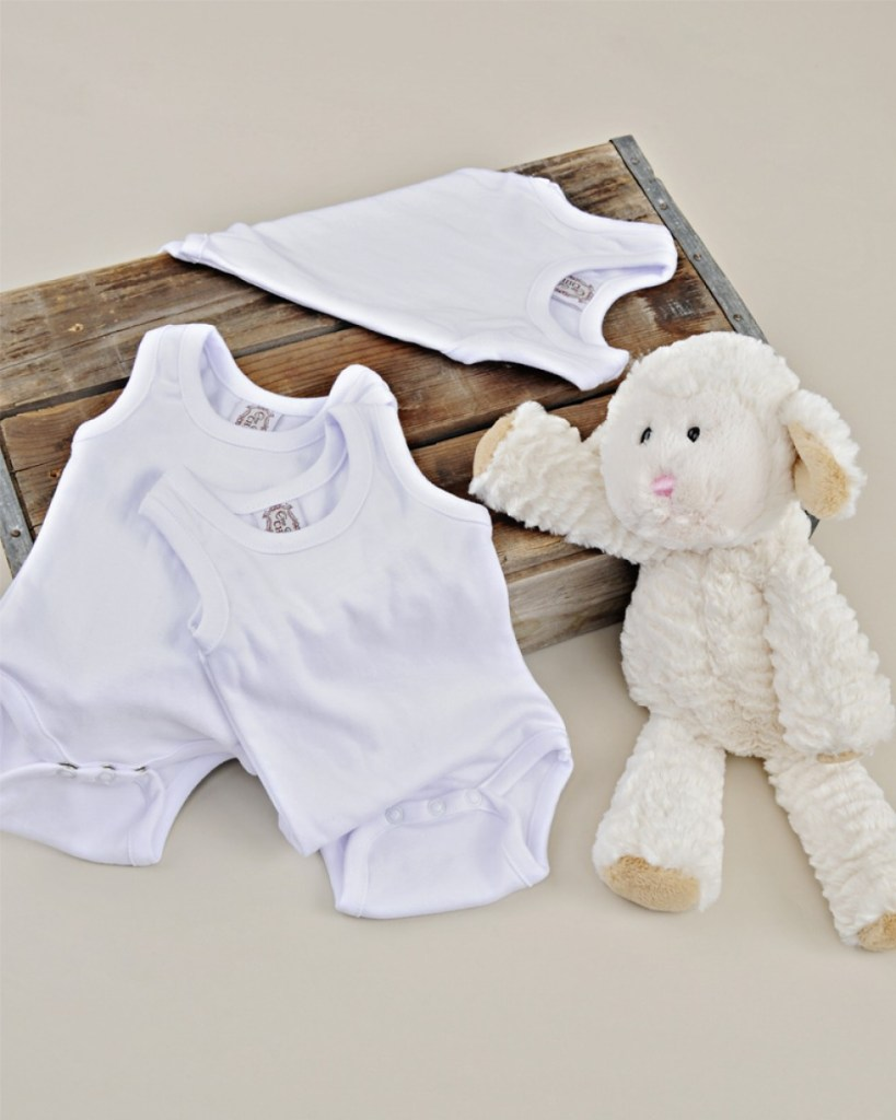 Pima Cotton Sleeveless Bodysuit 3-Pack