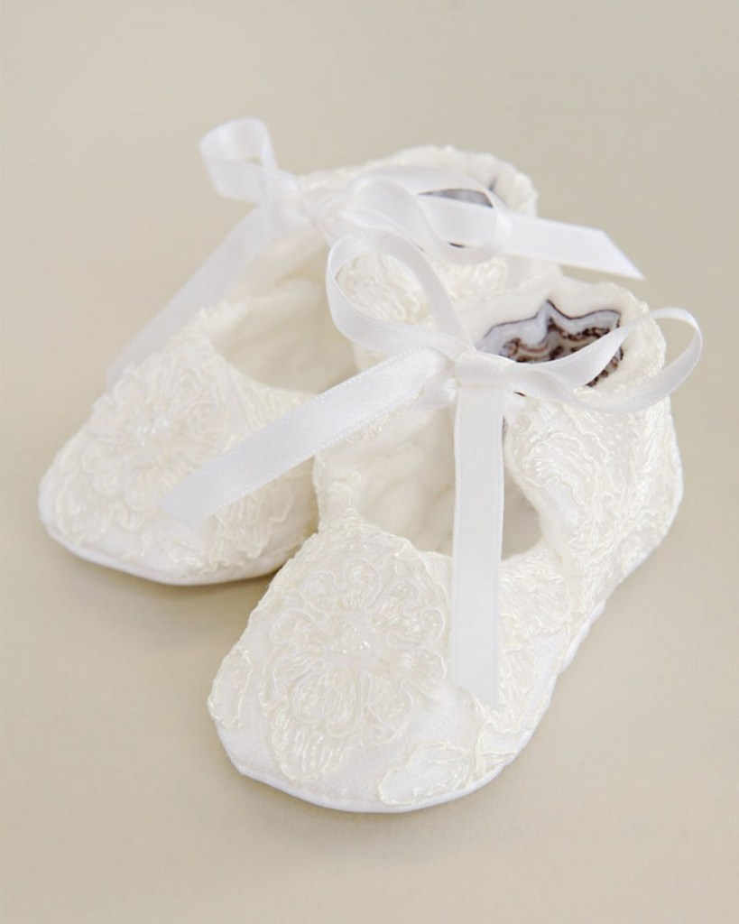 Sophi Christening Slippers