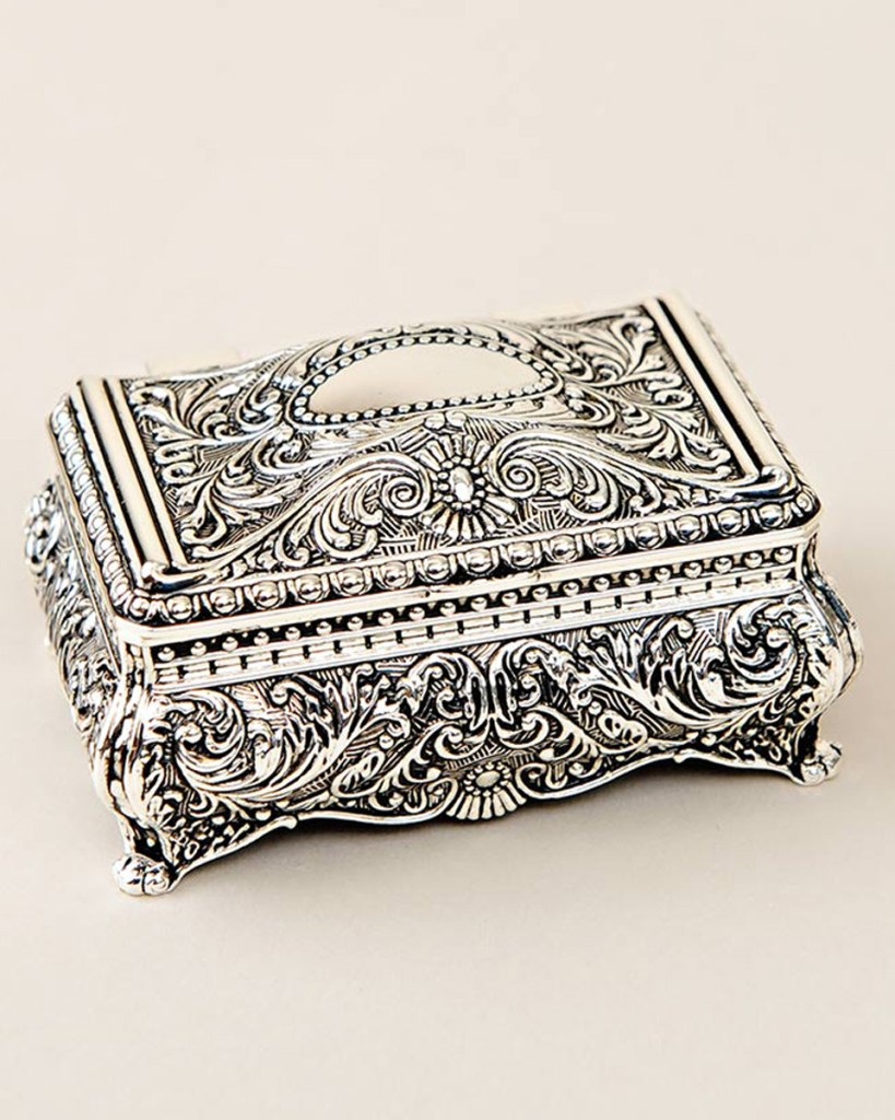 Small Ornate Jewelry Box