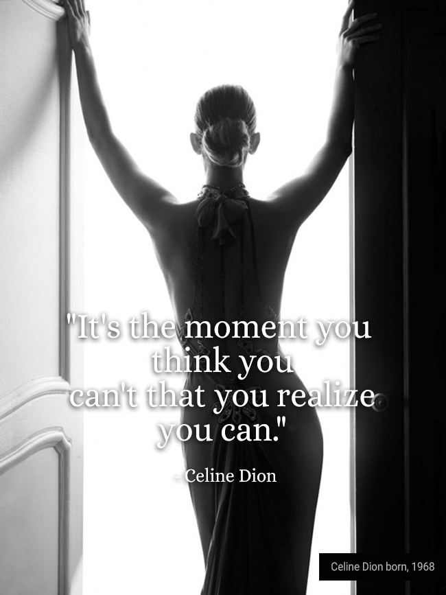 Celine Dion by Daniela Federici