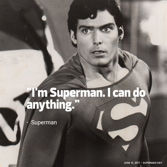 Christopher Reeve as Superman by Bob Penn